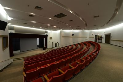 Our auditorium style conference room